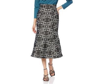 Lily Brown(リリーブラウン)フラワージャガードスカート