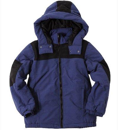 GLAZOS(グラソス)厚中綿・カラーブロックジャケット