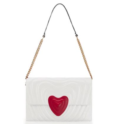 ESCADAMEDIUM LEATHER HEART BAG(ミディアムレザーハートバッグ)