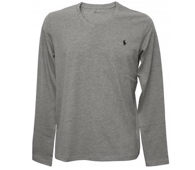 POLO RALPH LAUREN Long-Sleeve Jersey Cotton Crew-Neck T-Shirt