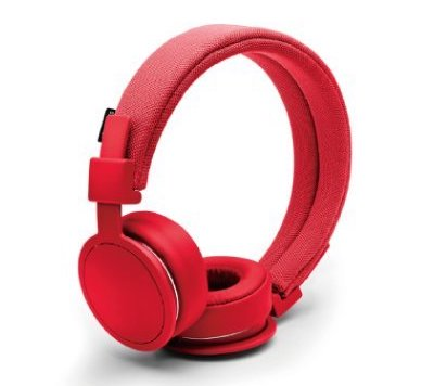URBANEARS Plattan ADV 高性能ヘッドホン 着脱式コード付属 トマト(赤色)