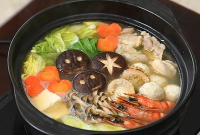 亀田家特製 鶏鍋のレシピ(作り方)