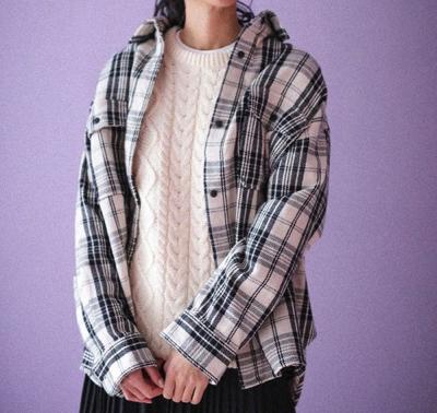 CRAFT STANDARD BOUTIQUE厚手WポケットチェックBIGシャツ