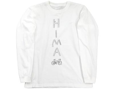 Pちゃんサイクリスト雨の日用HIMAウェア ロングスリーブTシャツ