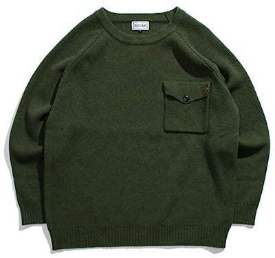 ROTAR(ローター)Pocket army knit(ポケット アーミー ニット)