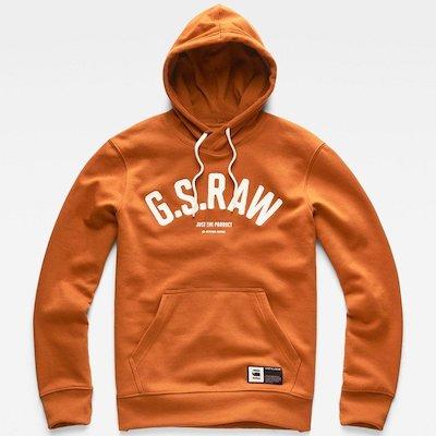 G-STAR RAW(ジースターロゥ) Graphic 14 Core Sweater (グラフィック14コアセーター) アジアンサイズ プルオーバーパーカー