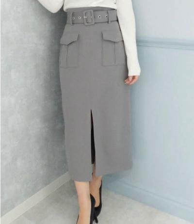 RESEXXY(リゼクシー)Wカーゴロングスカート