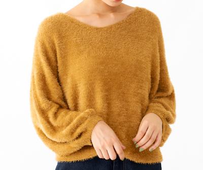 flower(フラワー)dreamy shaggy knit(ドリミーシャギーニット)