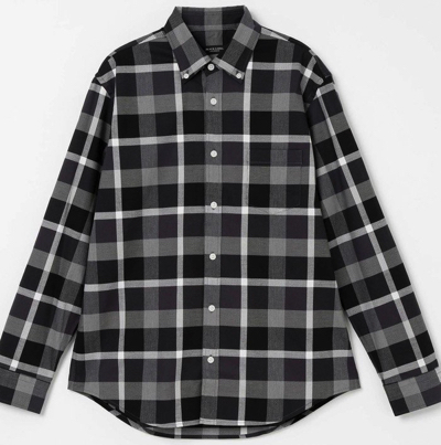 BLACK LABEL CRESTBRIDGEロイヤルオックスクレストブリッジチェックシャツ