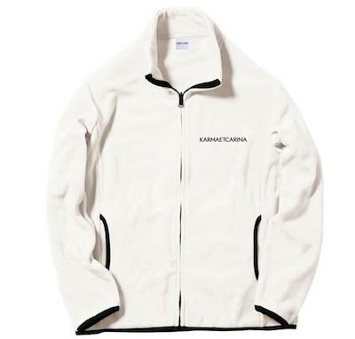 KARMA et CARINAMS-005 My Snowman シリーズ Fleece Jacket