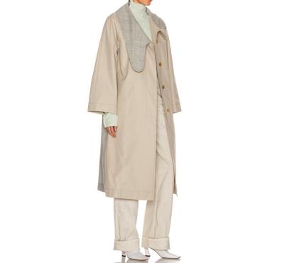 LOEWE(ロエベ)レディース コート アウター【Long Asymmetrical Collar Coat】