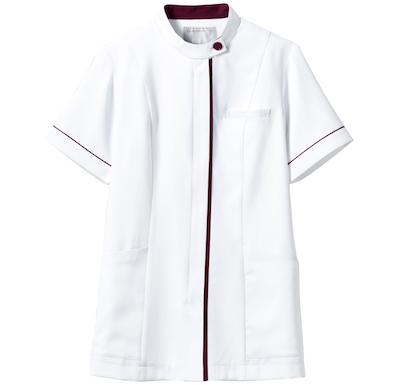 montblanc(モンブラン)女性用 白衣 ナースジャケット 半袖白衣スクラブ