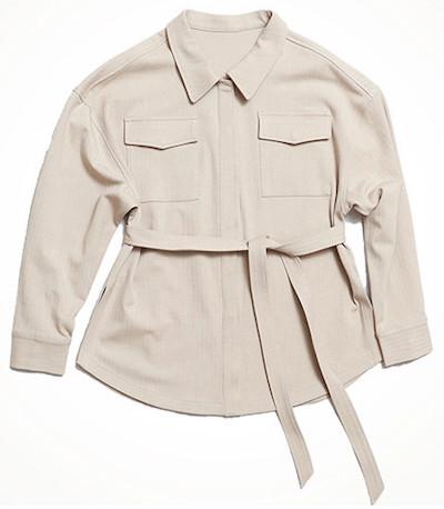LIP SERVICEヘリンボーンCPOシャツジャケット