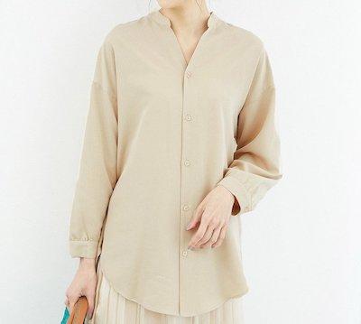 ROPE' PICNIC(ロペピクニック)裾スリットチュニックシャツ