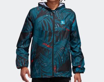adidas(アディダス)オールオーバー プリント BB ウィンドジャケット / Allover Print BB Wind Jacket