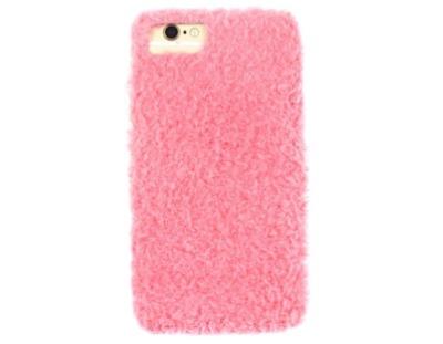 LUPIS(ルピス)モコモコファーiPhoneケース/ピンク
