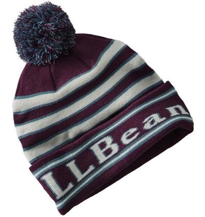 L.L.Bean(エルエルビーン)カタディン・ポム・ハット、ストライプ