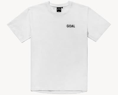 GOAL STUDIO(ゴールスタジオ) FOOTBALL FIELD TEE(フットボールフィルードTシャツ)ホワイト