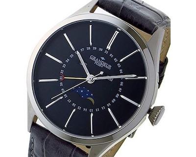 GRANDEUR(グランドール)GRANDEUR プラス PLUS クオーツ メンズ 腕時計 GRP011W2