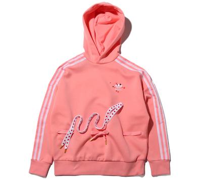 adidas HOODIE(アディダス フーディー) GLORY PINK