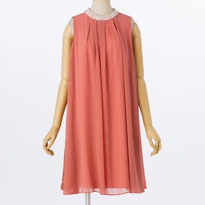 apres jour(アプレジュール) ネックビジュー付ドレス