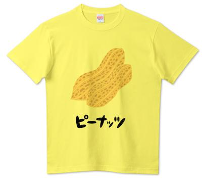 T-SHIRTS TRINITYピーナッツTシャツ