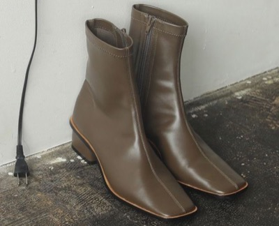 LIFE's Stretch Leather Boots