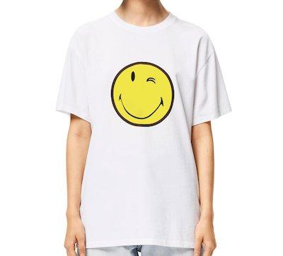 LOEWE(ロエベ) スマイリーワールド Tシャツ(コットン)