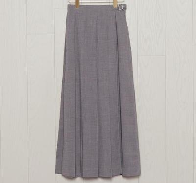 BEAUTY&YOUTH UNITED ARROWS<H>WRAP PLEATED SKIRT/スカート