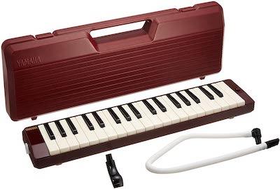 YAMAHA(ヤマハ)ピアニカ 鍵盤ハーモニカ マルーン P-37D