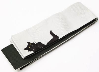 FURIFU(ふりふ)半巾帯「ごろん猫」