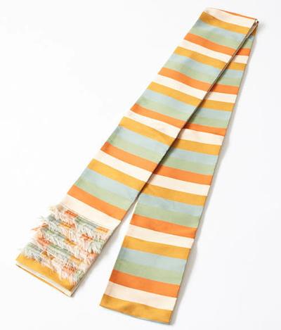 FURIFU(ふりふ)半巾帯「フリンジストライプ」
