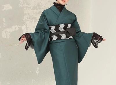 KIIRO(キイロ)ダイヤレース半衿 着物帯
