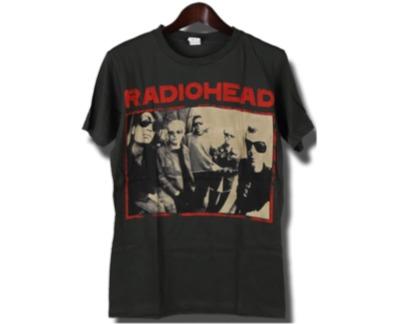 ヴィンテージ風 Radiohead Tシャツ