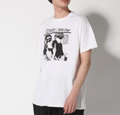 BEAMS LIGHTS(ビームスライツ) LIGHTSSONIC YOUTH / GOO プリントTシャツ