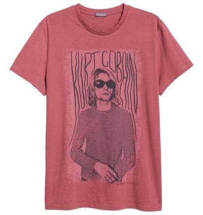 H&MプリントデザインTシャツ