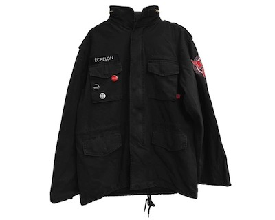 Thirty Seconds to Mars THE MITHRA PHOENIX ARMY BLACK JACKET
