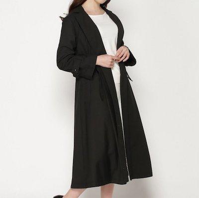 アリバイ崩し承ります【第6話】木村カエラさん着用のブラックのトレンチコートはコレ!
