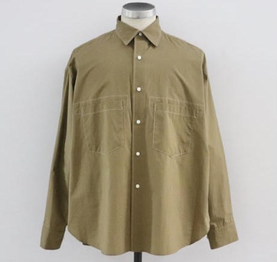 UNITUS(ユナイタス) SS20 Stiched Work Shirt