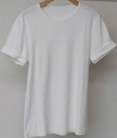 RESOUND CLOTHING(リサウンドクロージング)ランダムパイルロールアップTシャツ