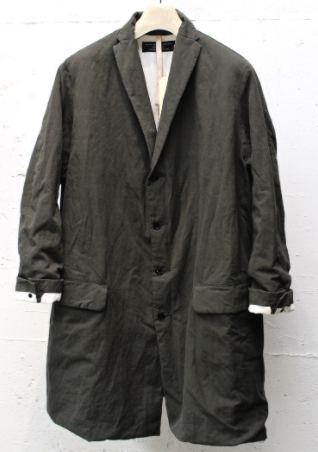 GARMENT REPRODUCTION OF WORKERS Quasimodo Coat. Dry Olive.