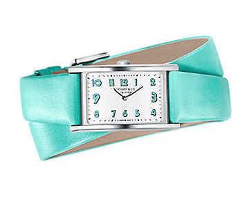 Tiffany&Co.2-ハンド 37 x 22mm ウォッチ