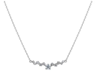 festaria bijou SOPHIA(フェスタリア ビジュソフィア)Pt900/850 ダイヤモンド ネックレス