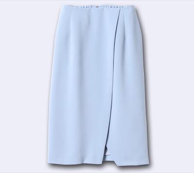 INEDITストレッチコクーンスカート