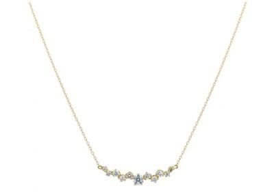 festaria bijou SOPHIA(フェスタリア ビジュソフィア)【Wish upon a star】K18イエローゴールド ダイヤモンド ネックレス