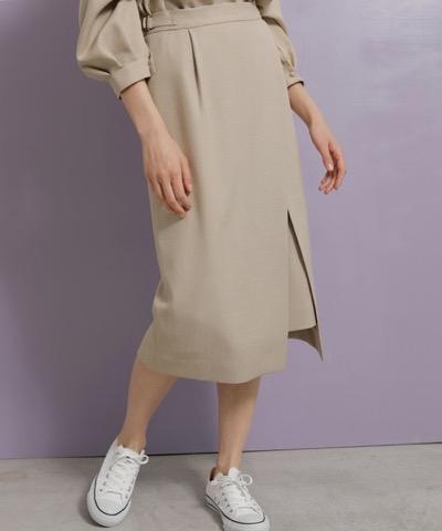 TONAL(トーナル)ツイードライクアシメタイトスカート