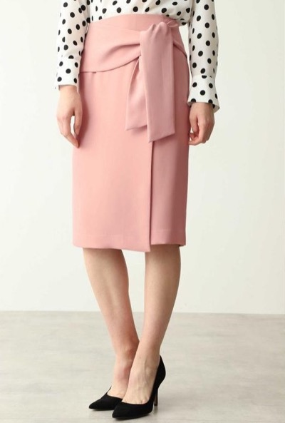 PINKY&DIANNE(ピンキー アンド ダイアン)ラップリボンタイトスカート