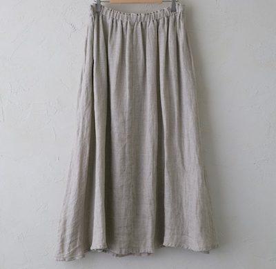 Vlas BlommeWild Double Gauze ギャザースカート