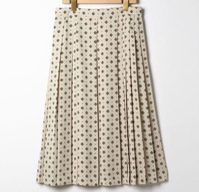 SCAPA(スキャパ)コモンクレピーヌスカート
