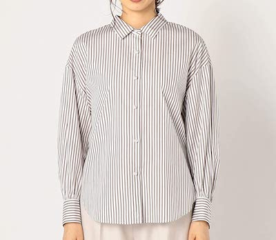 NOLLEY'S(ノーリーズ)パール釦2wayシャツ